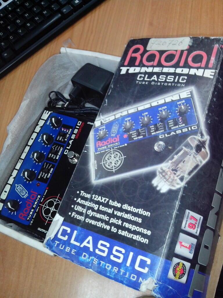 Radial Tonebone Classic Distortion Mulus Fullset Murah!!!
