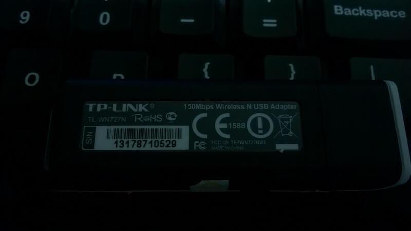 TP-Link Wireless N USB Adapter TL-WN727N Bandung