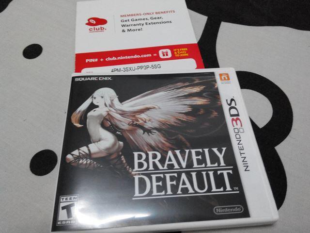 WTS Bravely Default (3DS)