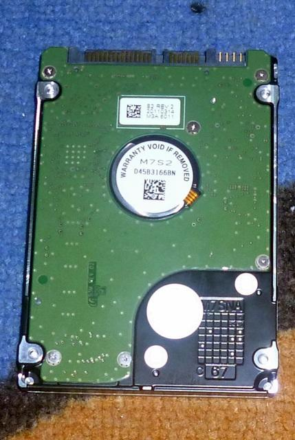 "[WTS]HDD Laptop 2.5"" 320Gb Merk Samsung, Kondisi OK. Harga Nego.."