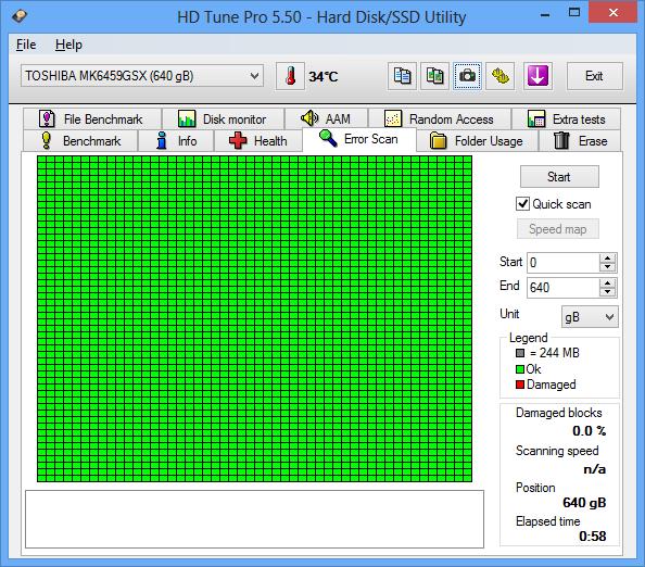[WTS] 1Pcs HDD External 640Gb USB 3.0 Normal, Harga Lebaran :D NEGO.,..