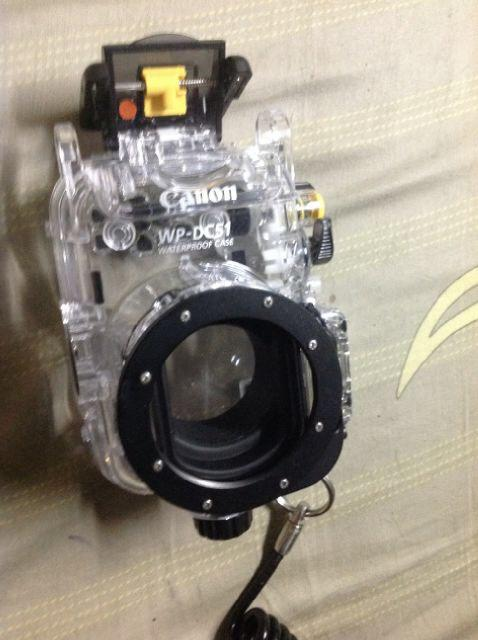 Lens Camera fish eye owl and subsee y5 dan housing canon wp dc51