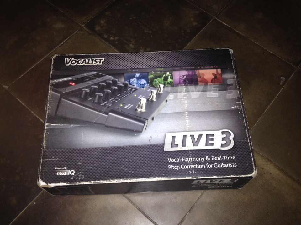 Blackstar HT-Dual, Digitech Vocalist Live-3