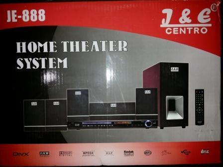 Home theater and karaoke system JE CENTRO 888 Murah speaker subwoofer Terbaik