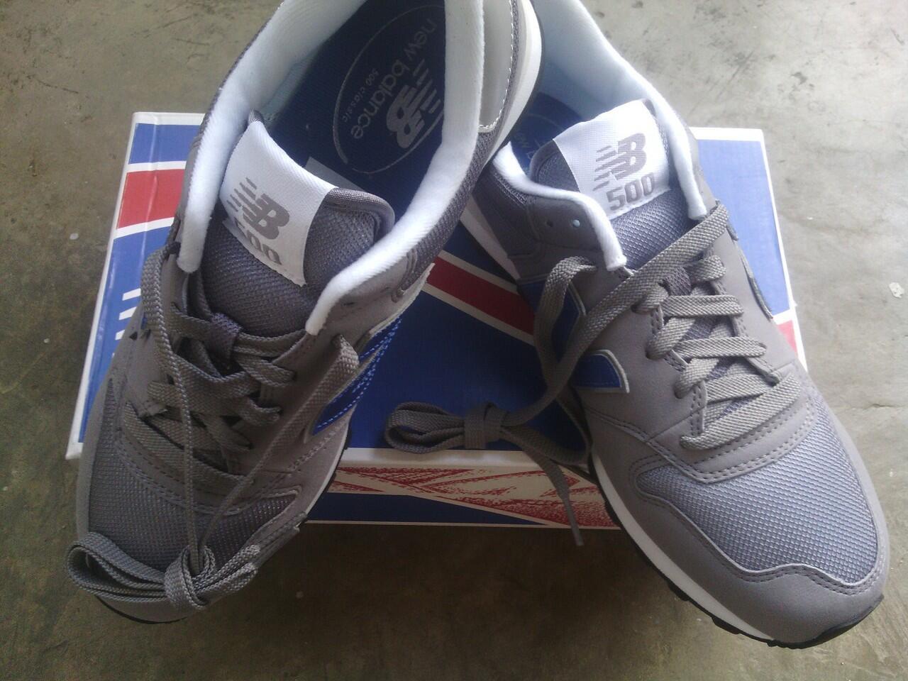 Terjual  DELTA  Sepatu New Balance GM500GBS Size 40EUR dan 41 d4d6e13158