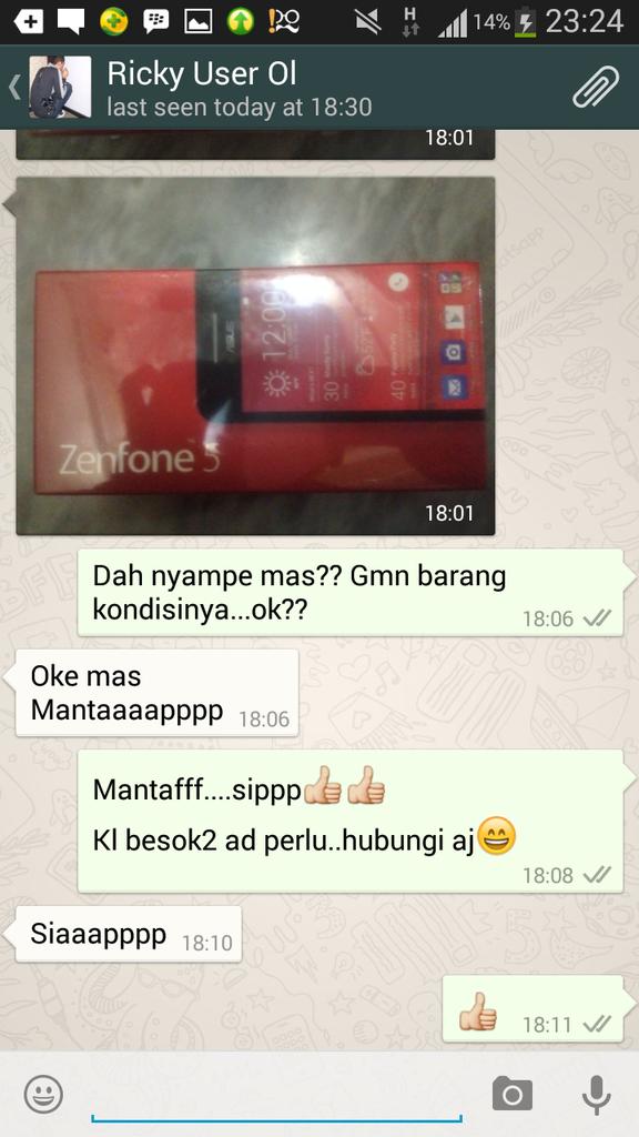 Zenfone 5 Merah & Hitam (BNIB) Garansi Asus 1 th (Datascript) Tangerang