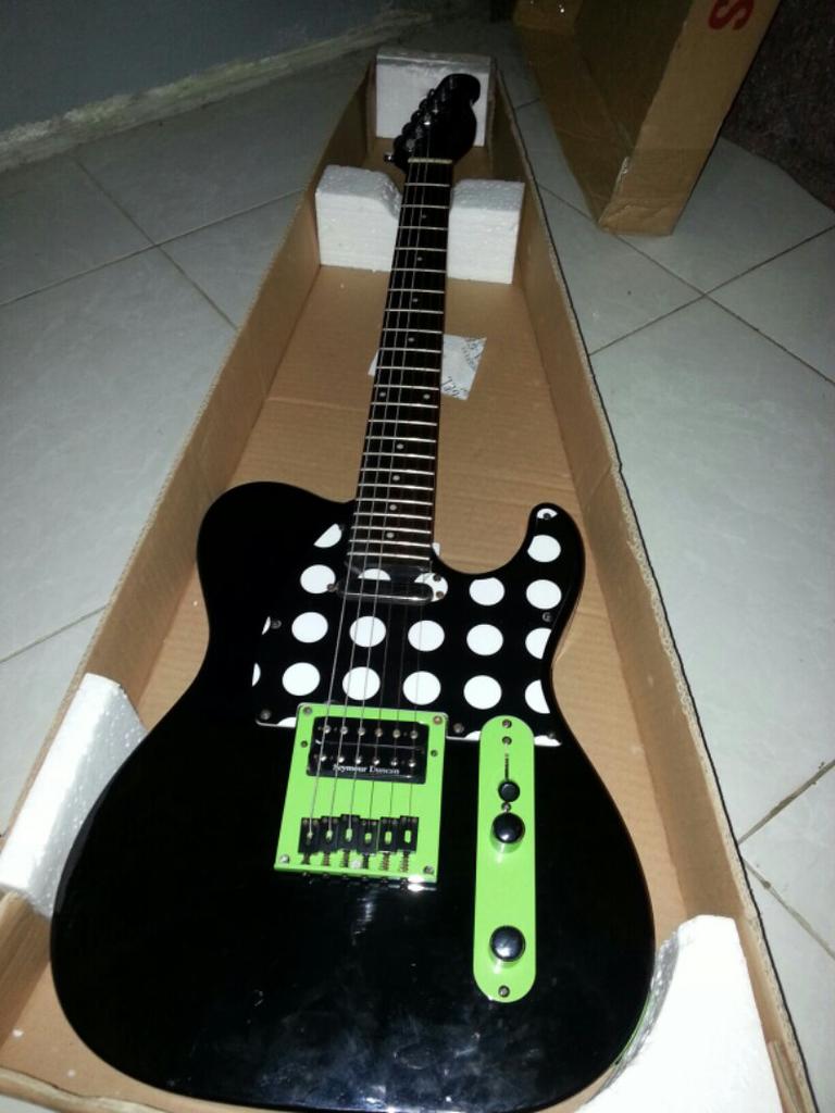 gitar grace tele by samick indonesia