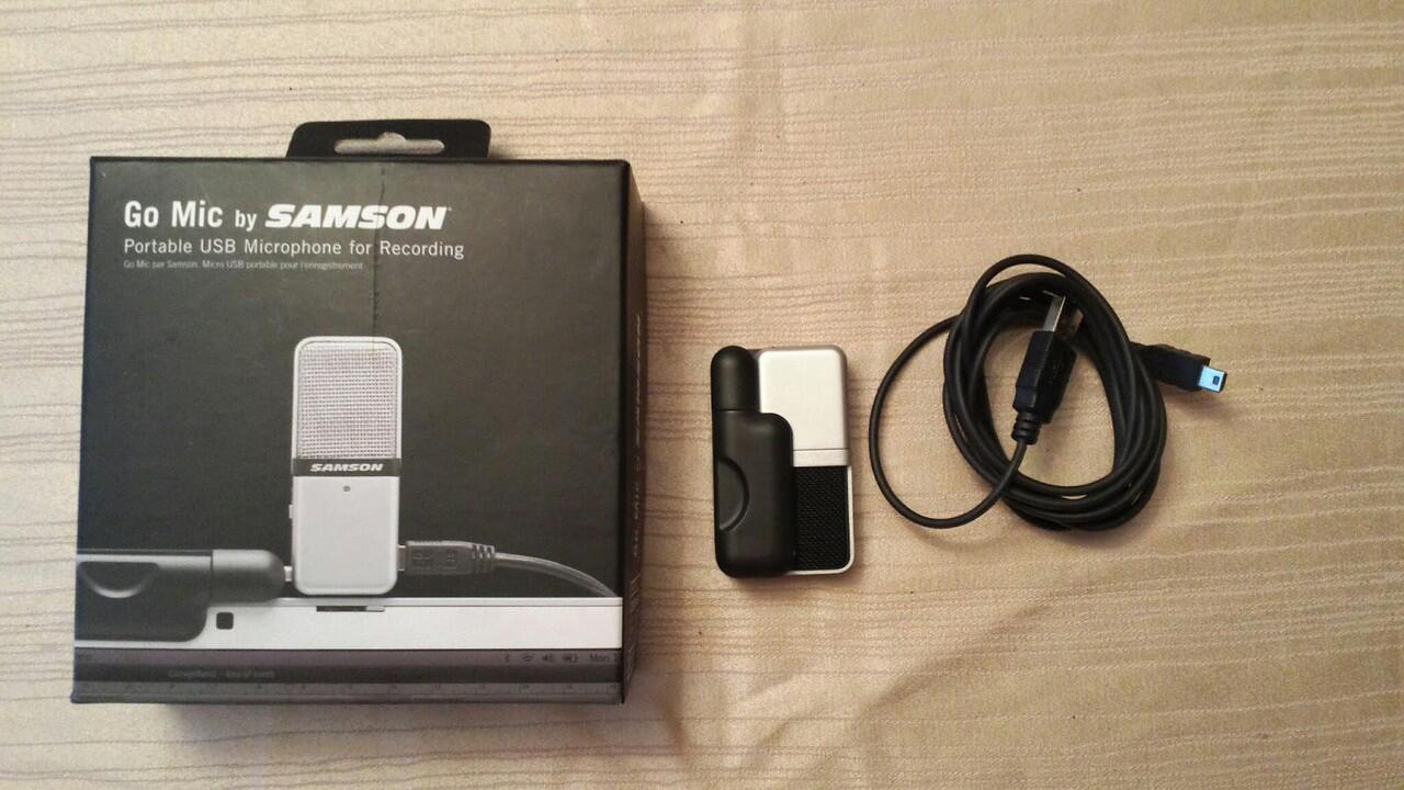 Samson Go Mic 2nd (500k Nego!) mic condenser termurah!