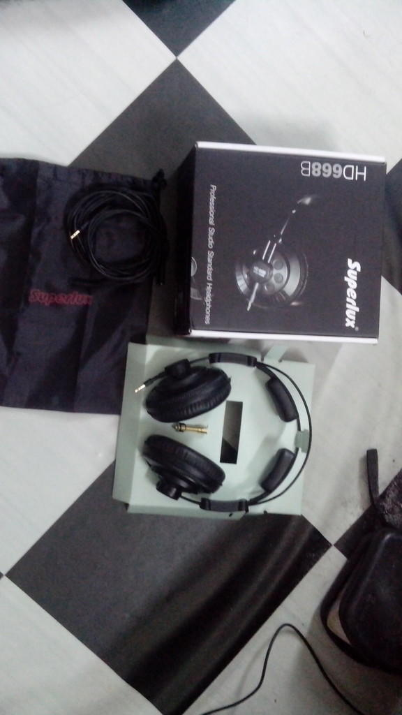 headphone superlux HD668B