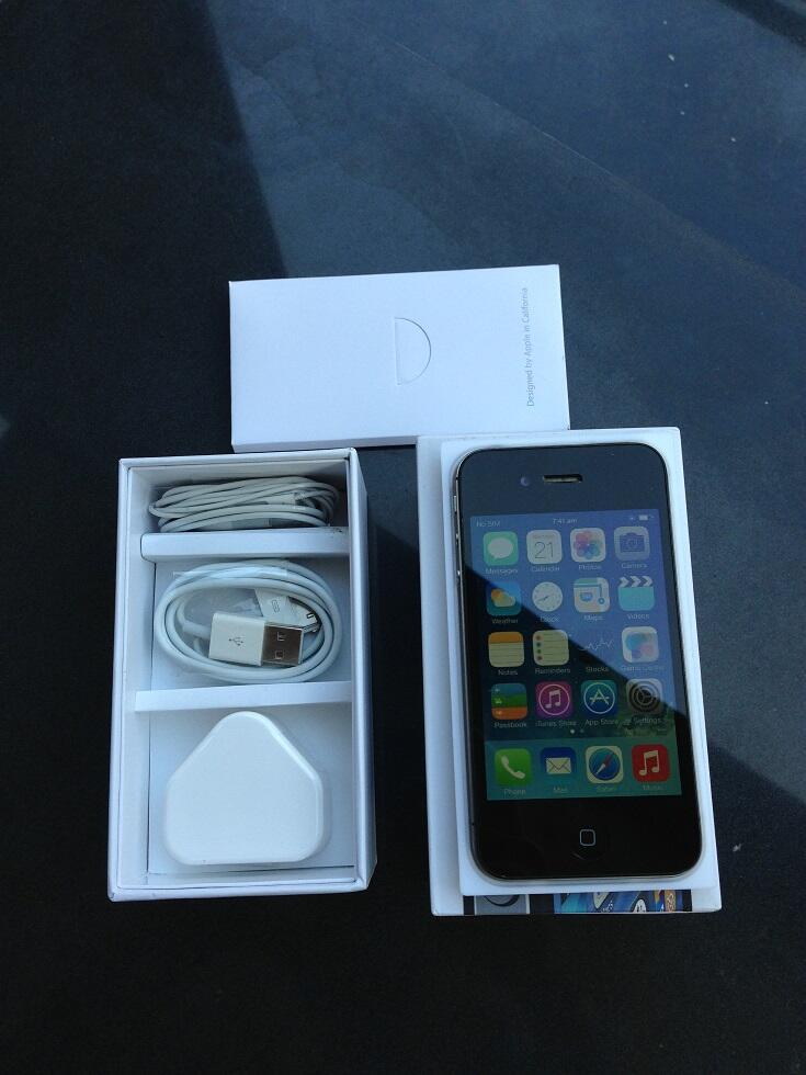 [2nd] iphone 4s 16gb black FU muluuus fullset COD Jogja / Yogya REKBER OK