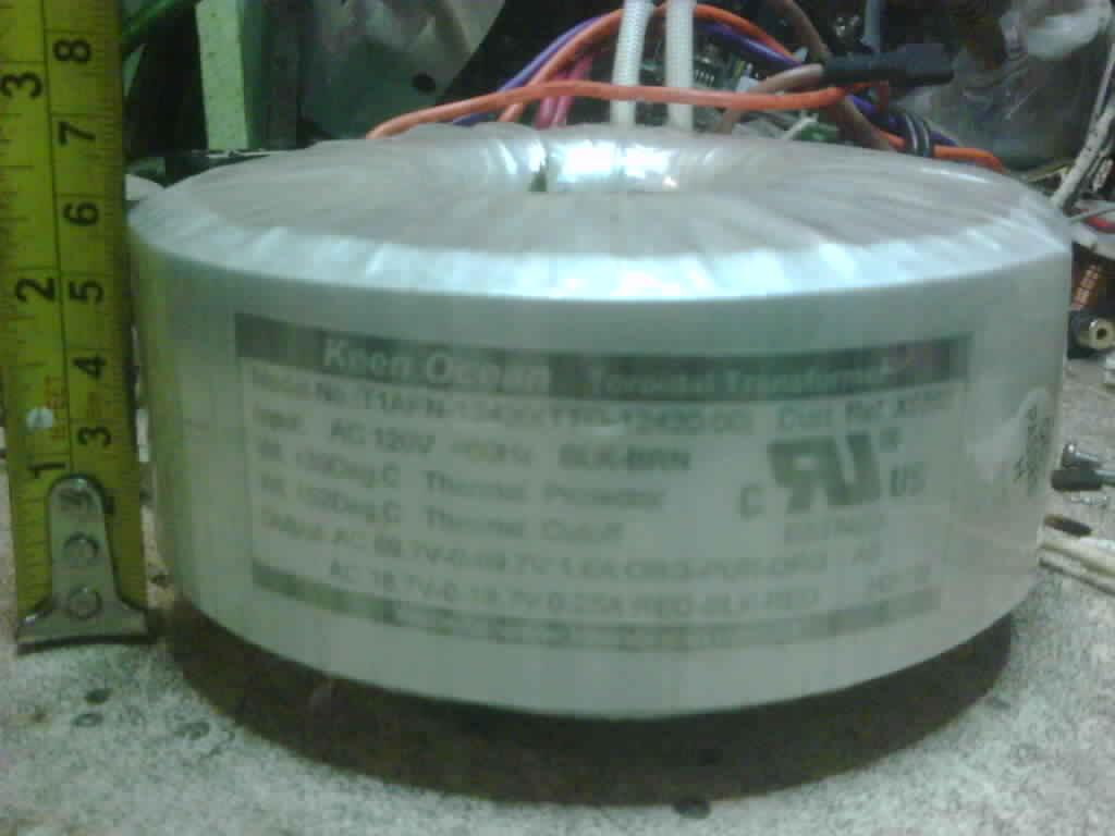 Trafo TOROID ORISINIL Part power amplifier YAMAHA P3500s .ORI