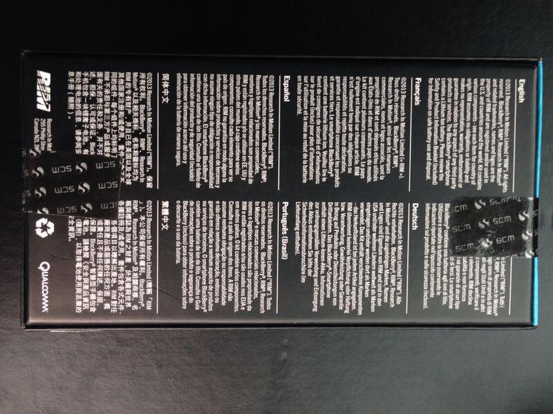 (WTS) Blackberry Z10 white new masih segel garansi
