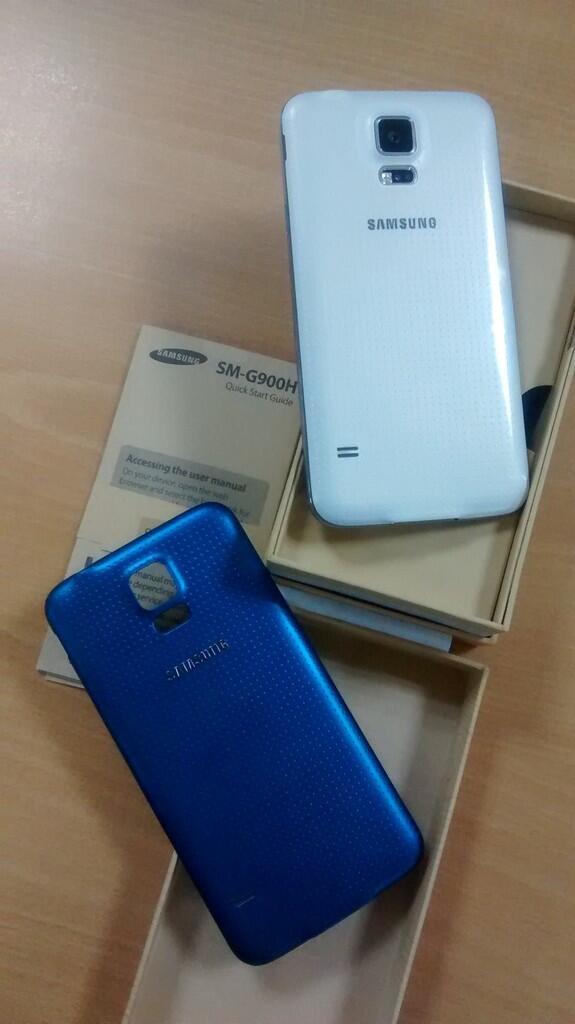 WTS : Samsung Galaxy S5 (white) - garansi SEIN