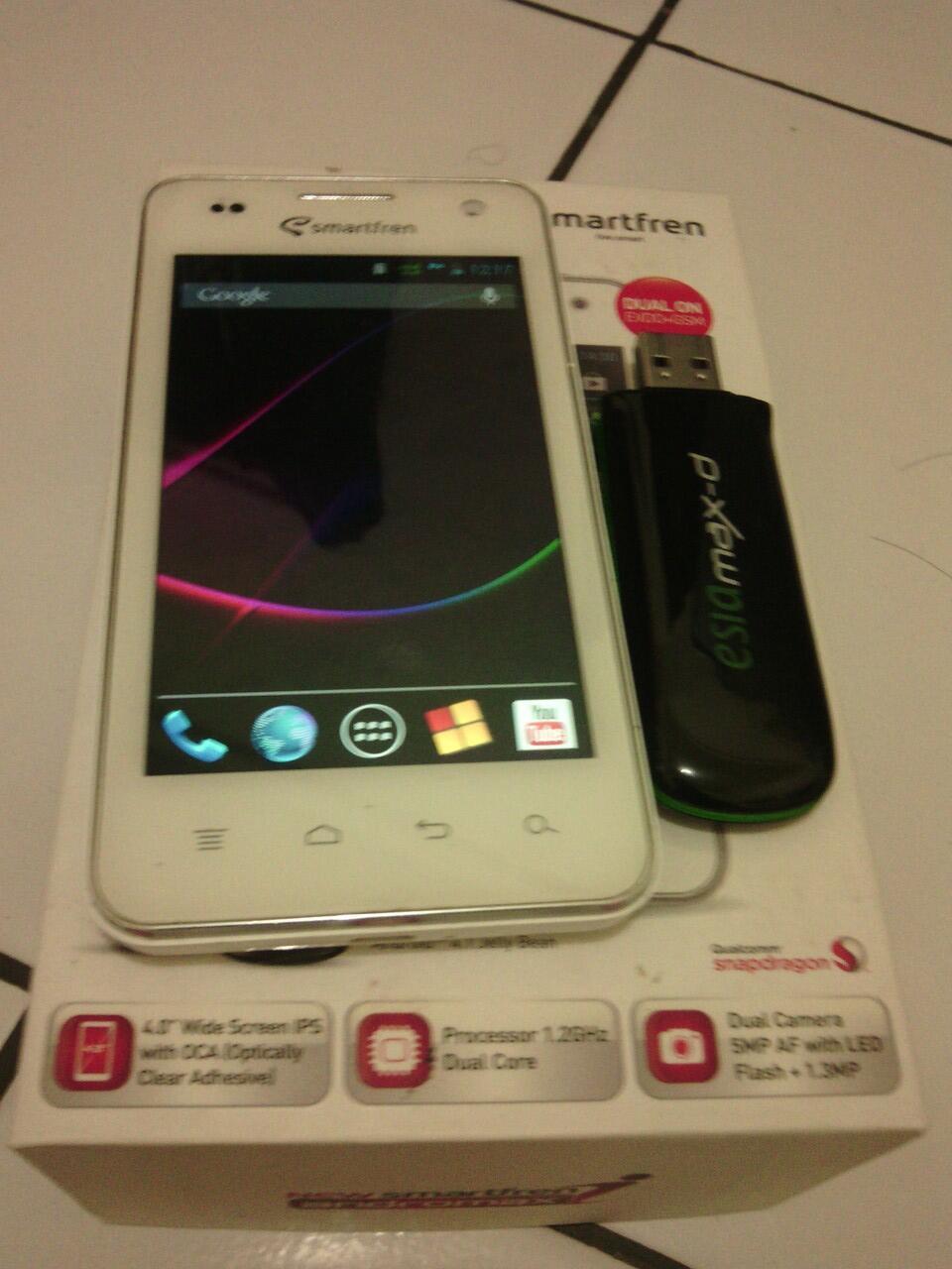 Smartfren New Andromax I White Tangan Pertama