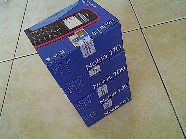 BNIB Nokia 110 dual sim n nokia 109 semarang