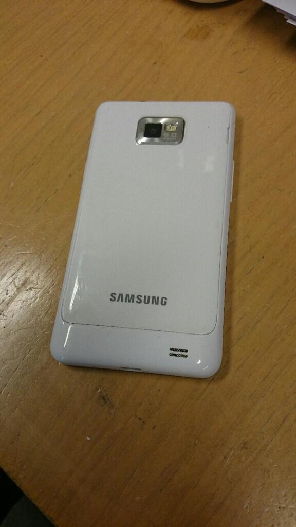 SAMSUNG S II - WHITE second