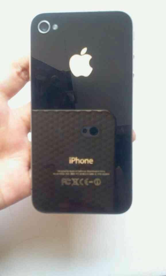 Jual iPhone 4 GSM FU 16GB black Fullset
