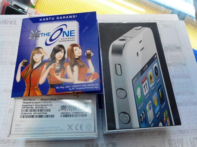 Iphone 4g 4s 16gb 32gb FU GSM garansi resmi 1tahun paling murah