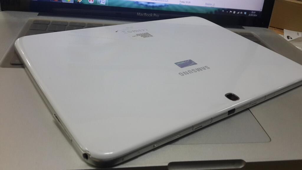 Samsung galaxy tab 3 GT - p5200 10 inc white mulus garansi fullset belum 1 bulan
