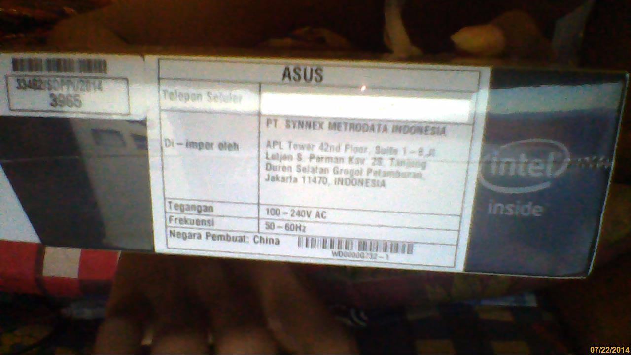 wts Asus Zenfone 5 Black 2gb Ram Baru&segel rekber ready
