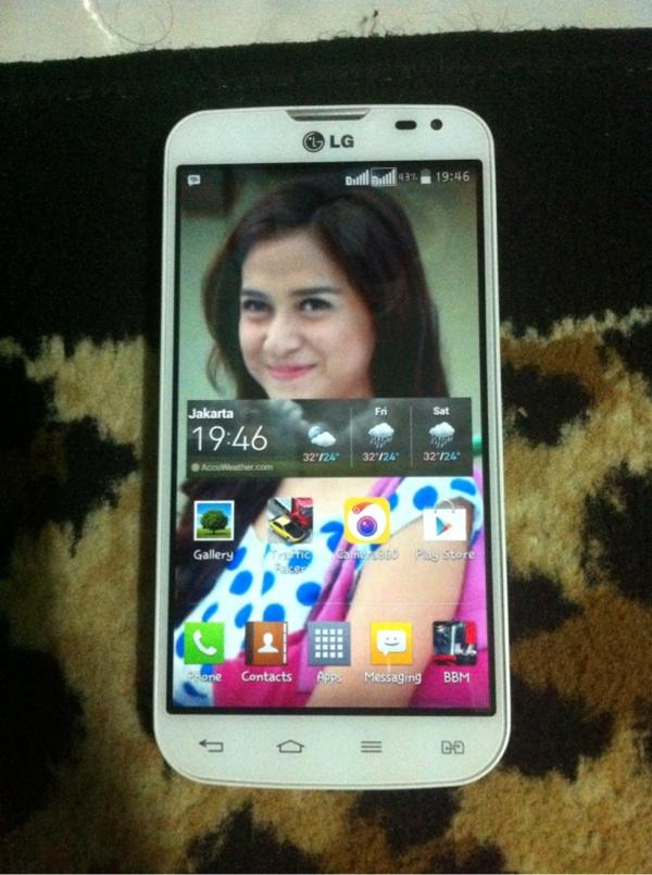 LG L90 dual White colour