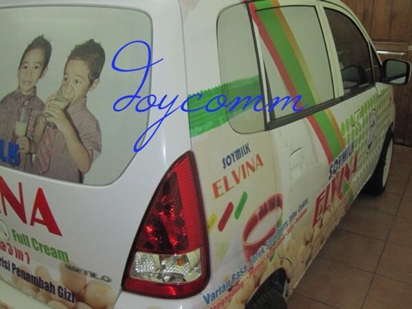 Jasa branding mobil (doycomm) bandung
