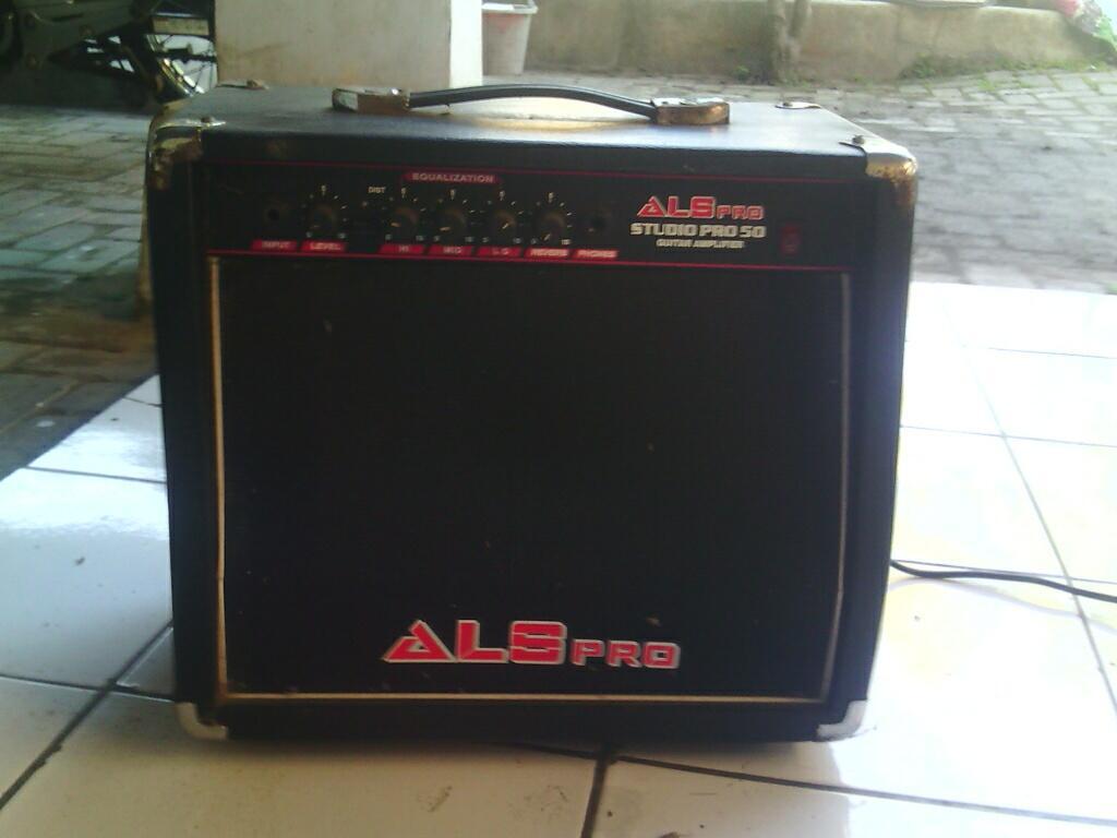 Jual Ampli ALS pro build in Distorsion buat gitar