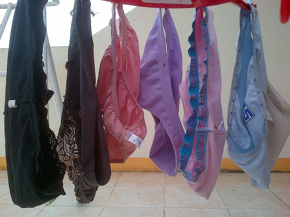 Berbagai Celana Dalam Bekas Cewek hasil Buruan Gua Selama 5 Tahun Tanpa Lelah