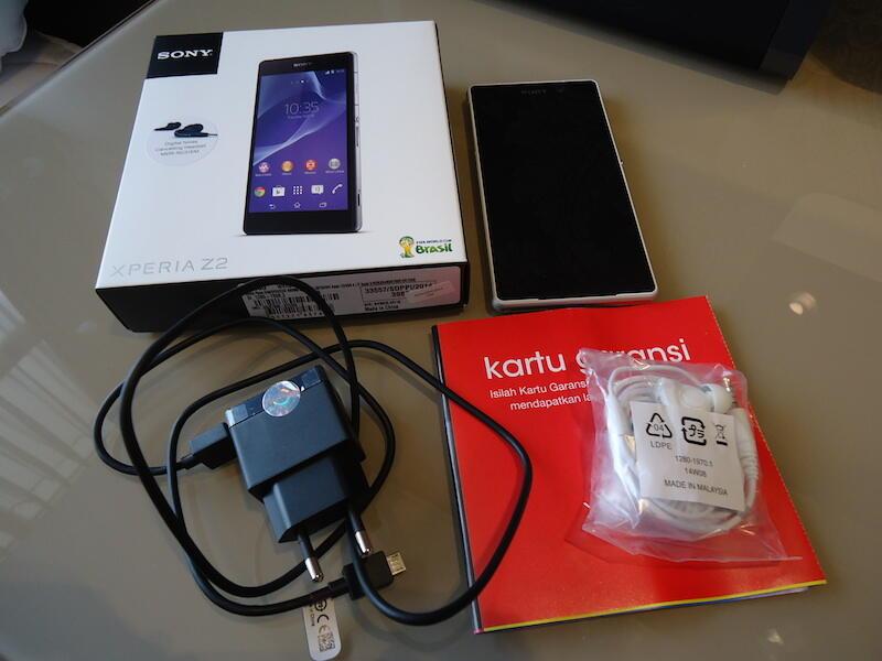 Jual Sony Xperia Z2 White 2nd Mulus & Full Bonus!