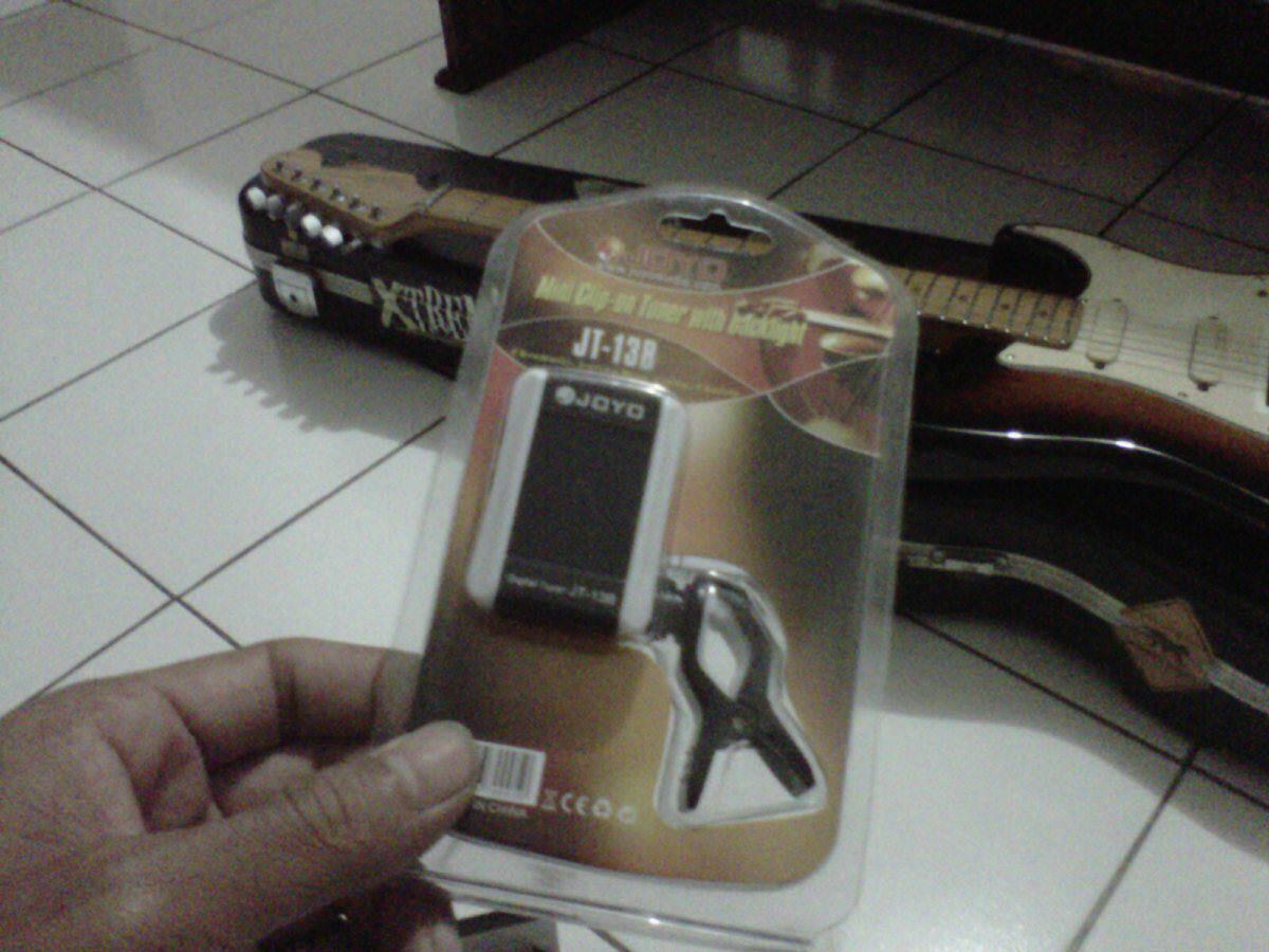 Jual Tuner : Joyo JT-13B Mini Backlit Tuner for Guitar, Bass, Violin and Ukulele
