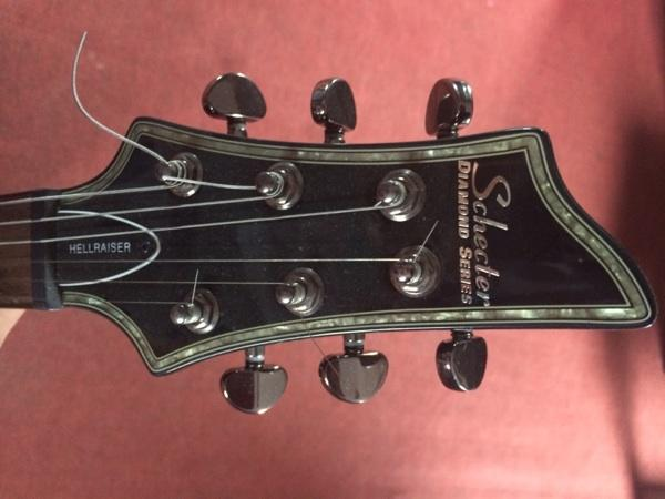 Gitar guitar schecter diamond series