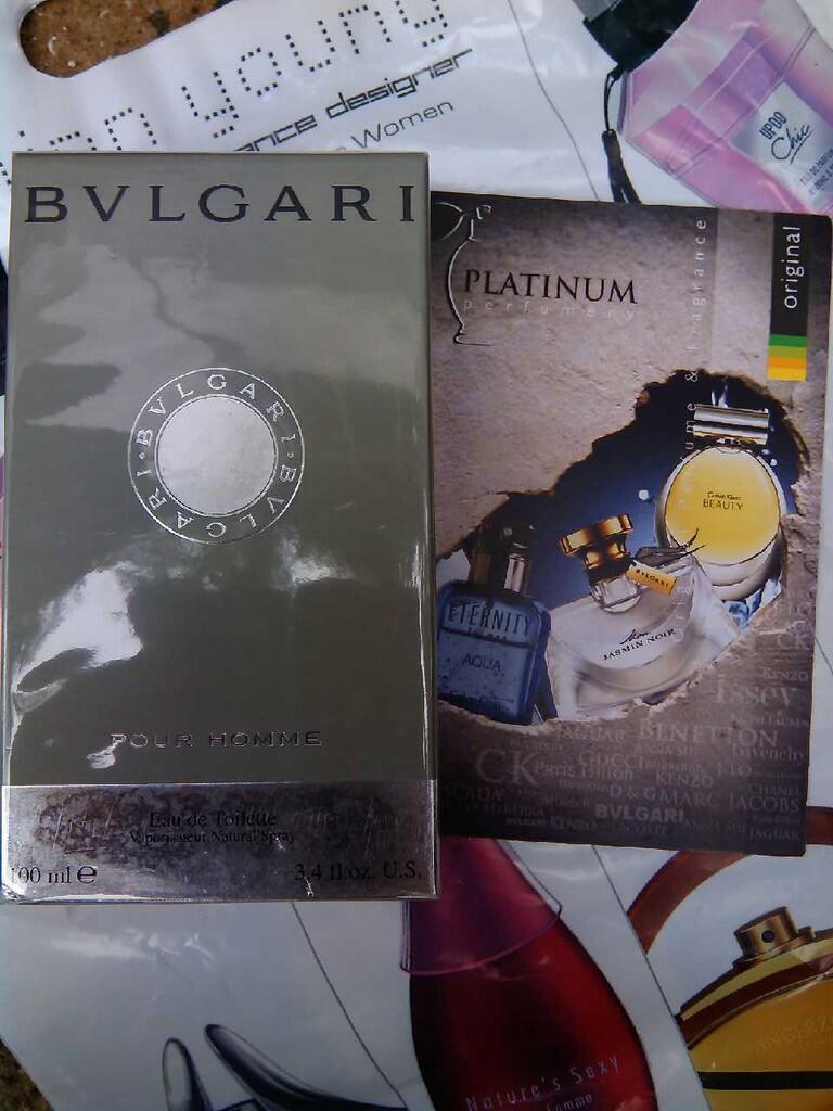 Parfum Original Bvlgari Pour Homme for Men