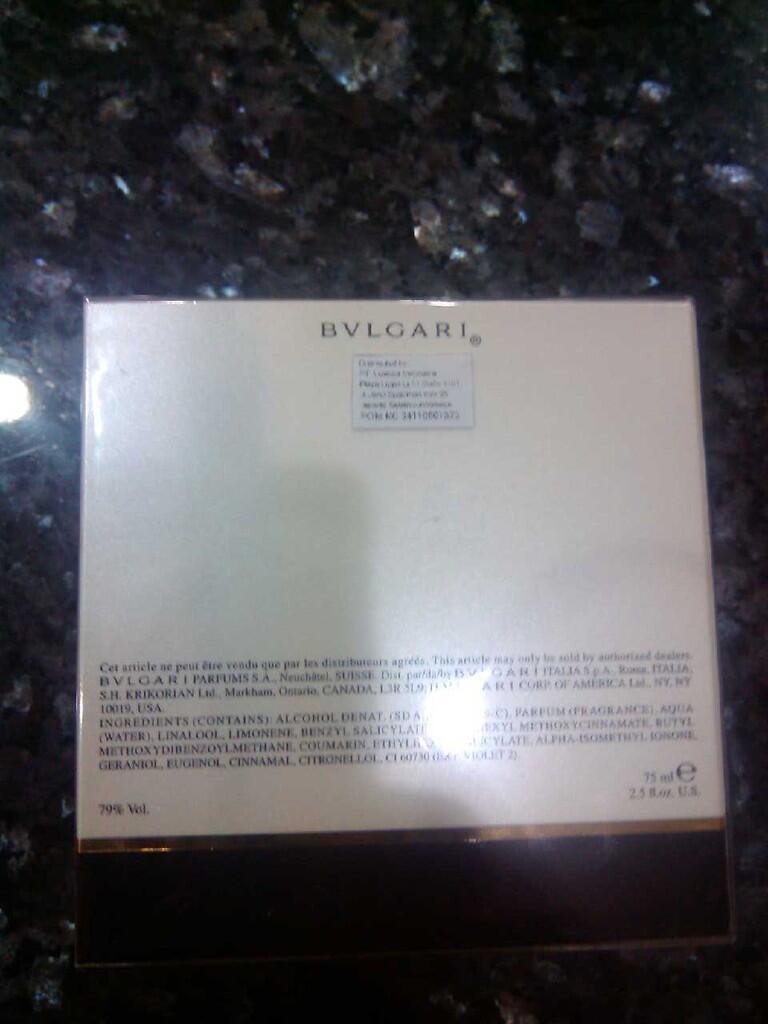 Parfum Original Bvlgari Mon Jasmin Noir