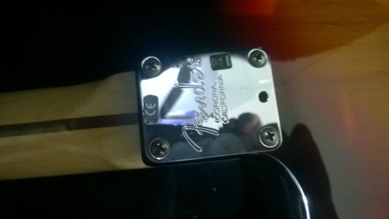 FENDER Stratocaster American Standart U.S.A..... Top... Markotop