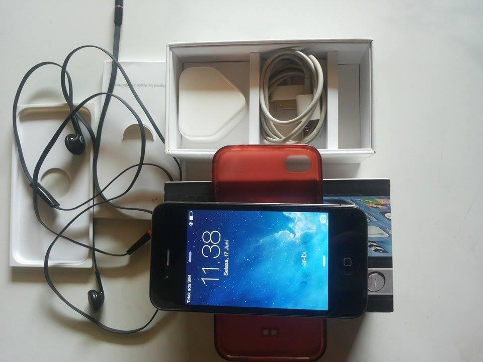 jual Iphone 4 16Gb , FU jual Cepat aja gan . Kediri