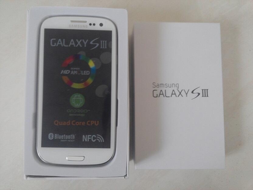 Samsung Galaxy S3 SHV-E210 32GB|RAM 2GB|White|New Old Stock|Original ex Samsung Korea