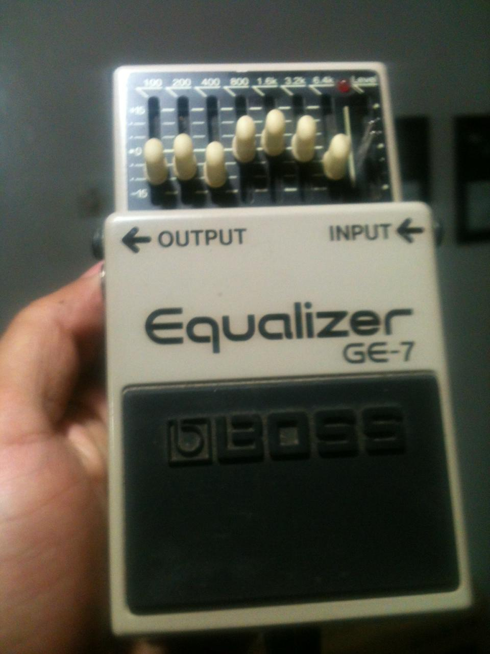For Sale Boss Ge-7 Equalizer