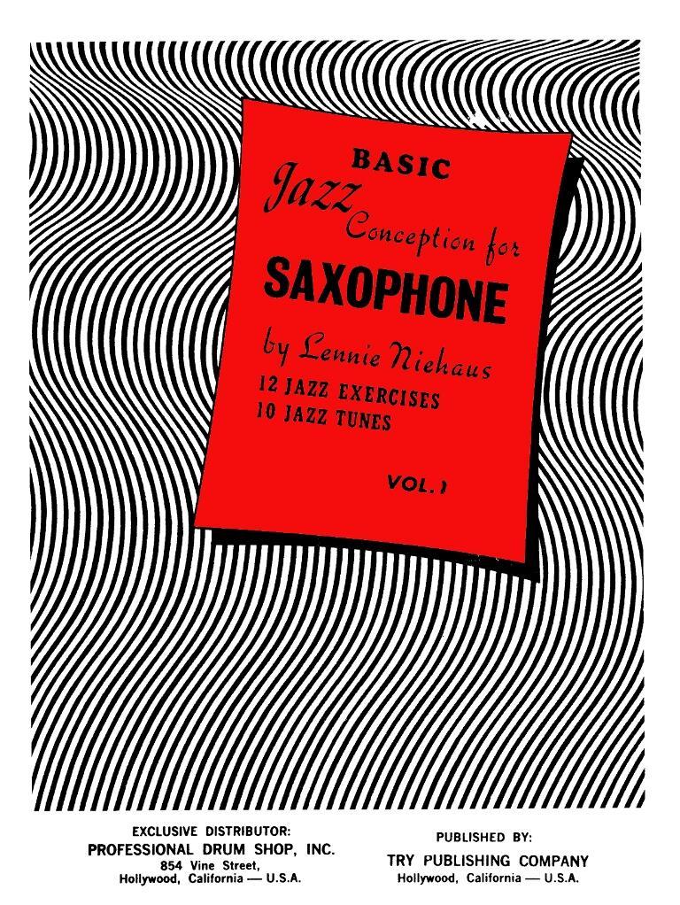 Buku Saxophone Basic Jazz