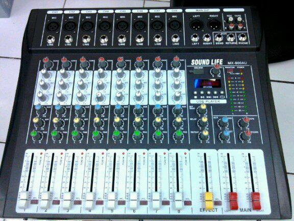Mixer Audio MX800AU