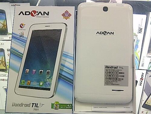 Stock Firmware Advan T1L ( Vandroid )
