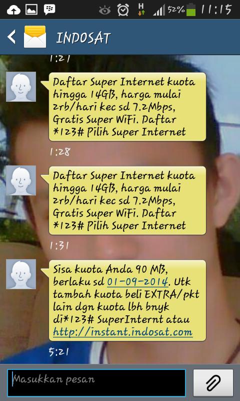 Kecewa Dengan paket internet Indosat