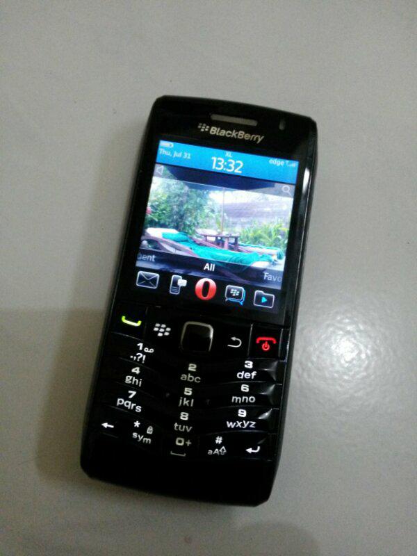 Jual Blackberry Pearl 3G Black mulus