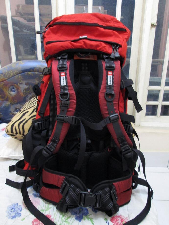 Tas Eiger Excelsior 65 L Red