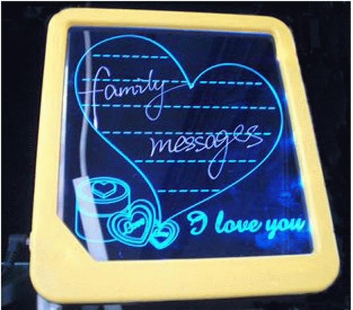 Papan Tulis LED (Led Writing Board) Murah