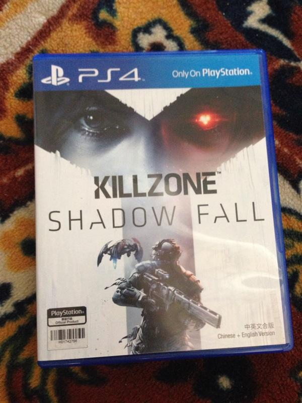 JUAL PS4 Bluray Killzone & Watch Dogs