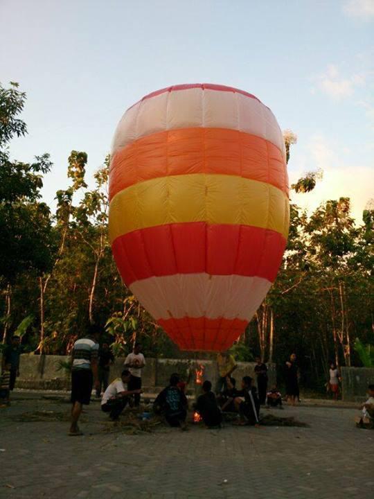 Balon Udara Tradisi Lebaran Masyarakat Ponorogo