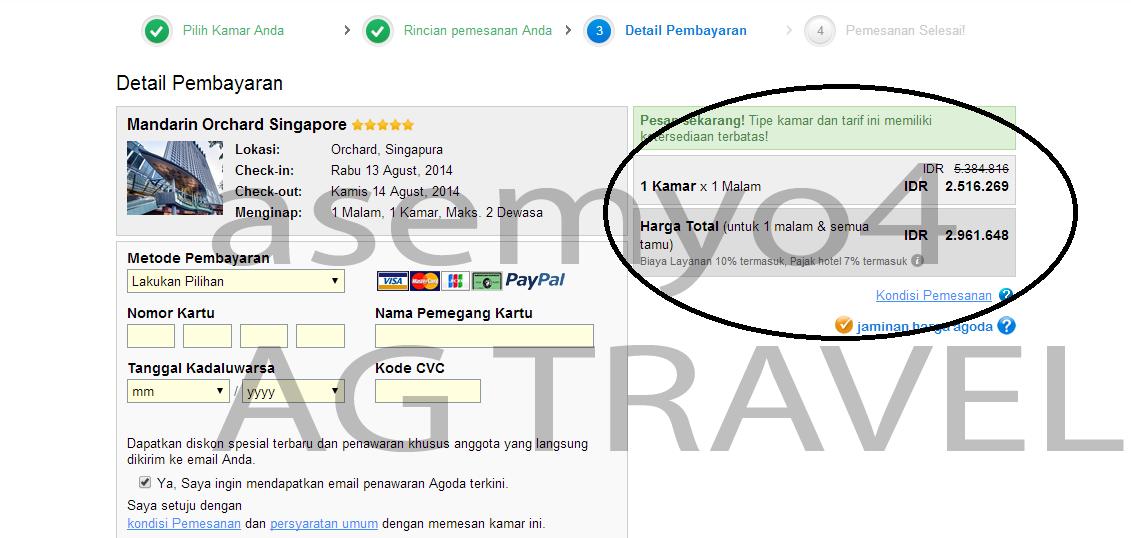 Jasa Booking AGODA FREE trusted seller @kaskus since 2009