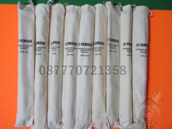 Aneka Suling / Recorder merk Yamaha, Gunindo, Medan Laga dll