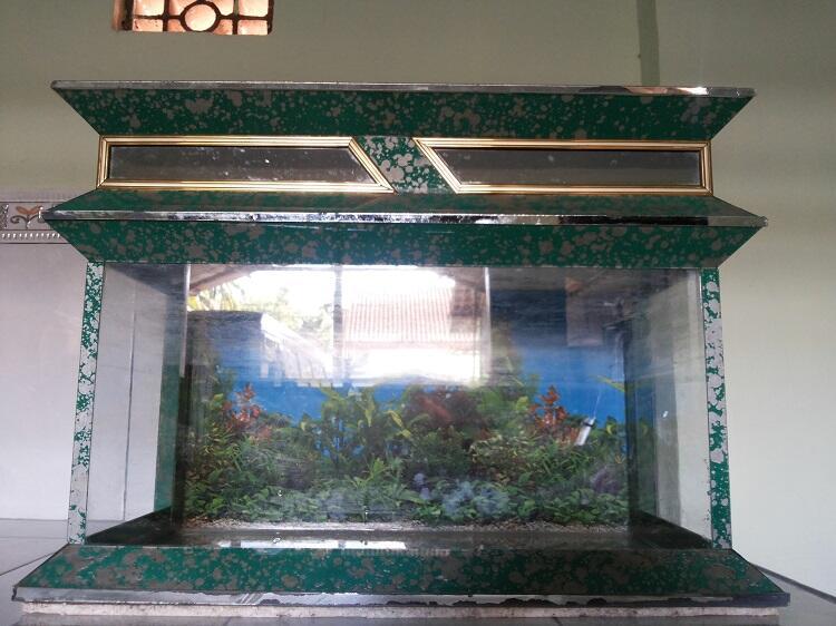 Terjual Aquarium Cantik