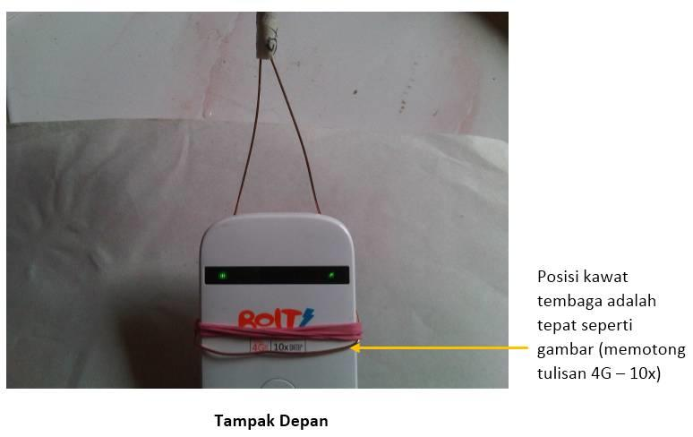 Antena Eksternal WajanBolic Modem Bolt 4G 2300mhz